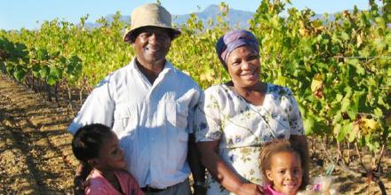 南アフリカ初の黒人所有ワイナリー